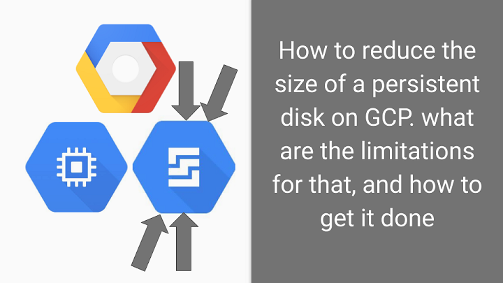 how to resize a persistent disk in gcp